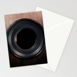 Professional Photography Lens closeup Stationery Cards
