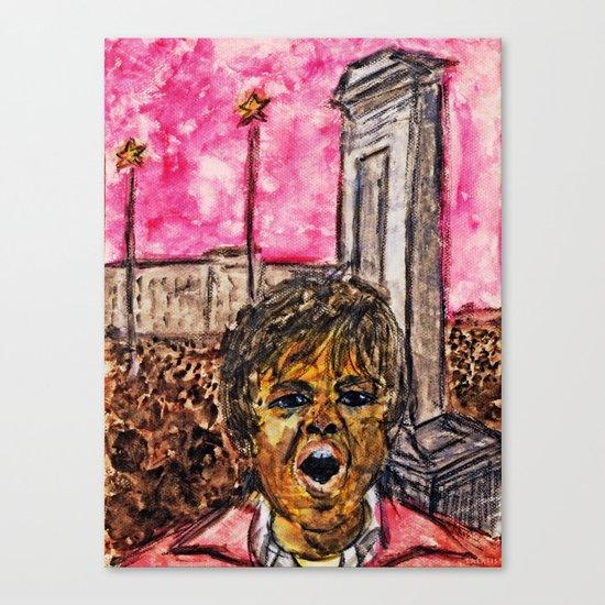 TIANANMEN SQUARE, 1989 Canvas Print