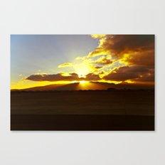 Ford Island sunset 2 Canvas Print