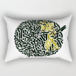 Calligram BIG 1 Rectangular Pillow