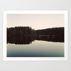 still lake Art Print
