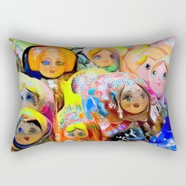 A Gaggle of Girls Rectangular Pillow