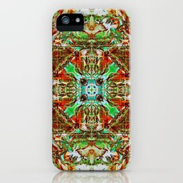 Hendrix Macrocosm iPhone Case