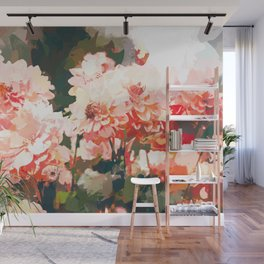 Blush #nature #digitalart Wall Mural