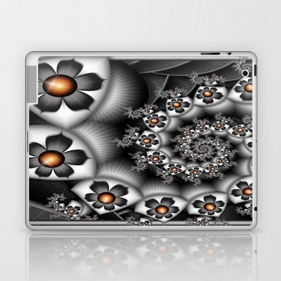 Orange Fan. Laptop & iPad Skin