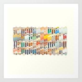 Processing / Java Generative Art Art Print