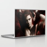 supernatural Laptop & iPad Skins featuring Supernatural by PiccolaRia