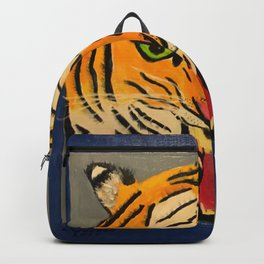 Fear The Tiger Backpack