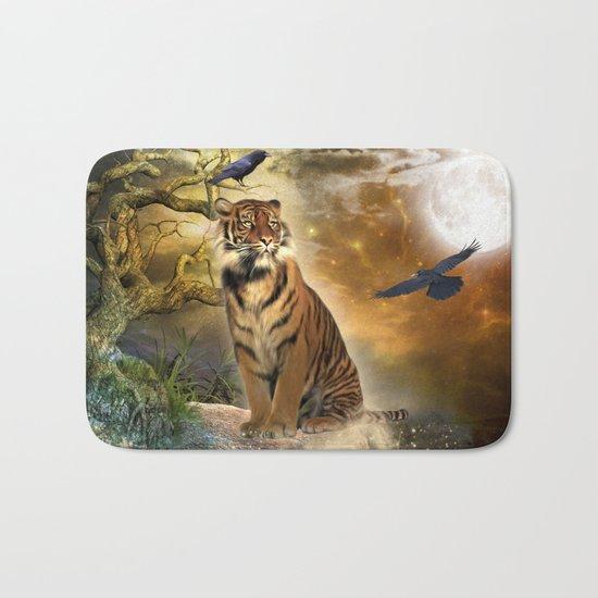 Wonderful tiger Bath Mat