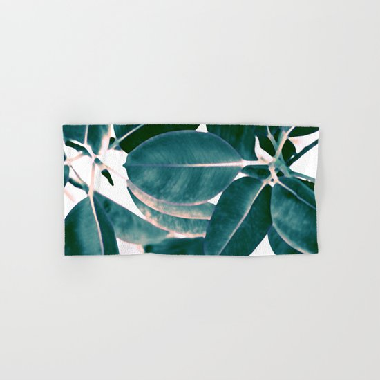 Tropical abstract(7). Hand & Bath Towel