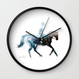 Horse (Canter on the beach) Wall Clock