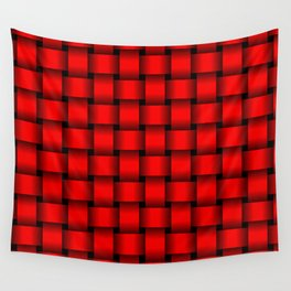 Red Weave Wall Tapestry