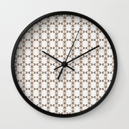 Shoe Pattern - Joie Jaclyn Calf Hair Heel Wall Clock