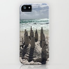 Castles In The Sand iPhone Case