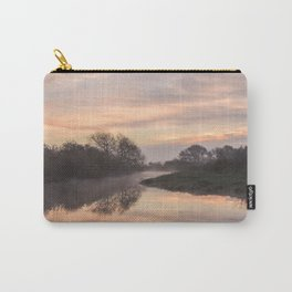 Misty Idle Sunrise Carry-All Pouch