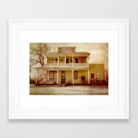 general Framed Art Prints featuring General Store by Dorothy Pinder