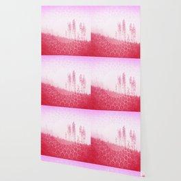 Bubblegum Boho Trees Wallpaper