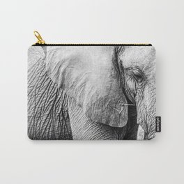 Elephant Wrinkles Carry-All Pouch