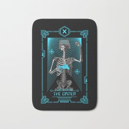 The Gamer X Tarot Card Bath Mat