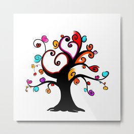 Love Blossoms - Spring burst Metal Print
