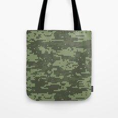 Cyber Camo Tote Bag