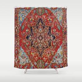 Heriz  Antique Persian Rug Print Shower Curtain