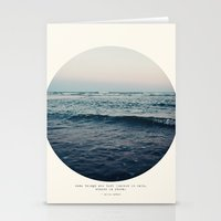 storm Stationery Cards featuring In Storm by Tina Crespo
