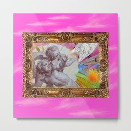 Angelo dell Gatto - Variations on the theme of the Italian Baroque Metal Print