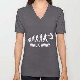 Walk Away Democrat to Freedom Unisex V-Neck