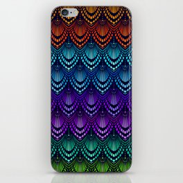 Variations on a Feather I - Deco Style iPhone Skin