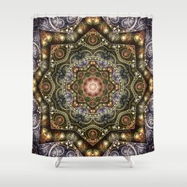 Mandalas from the Voice of Eternity 8 Shower Curtain