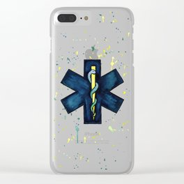 EMT Hero Clear iPhone Case