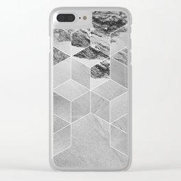 Sandpiper (cubism) Clear iPhone Case