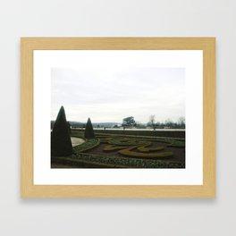 Jardins de Versaille  Framed Art Print