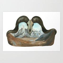 Life and Death - 2 Art Print