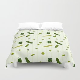 Pickles Duvet Cover