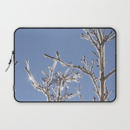 Ice in the Trees Laptop Sleeve