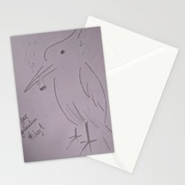Birds For Legalization Stationery Cards