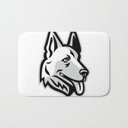 Alsatian Dog Mascot Bath Mat