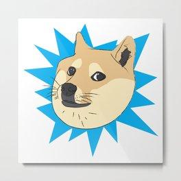 Doge Metal Print