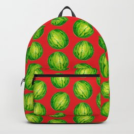 Water melon colorful pattern hand paint by color pencil Backpack