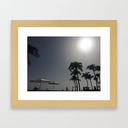 Eternal Vacation Framed Art Print