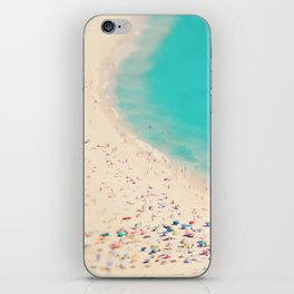 beach love III - Nazare iPhone Skin