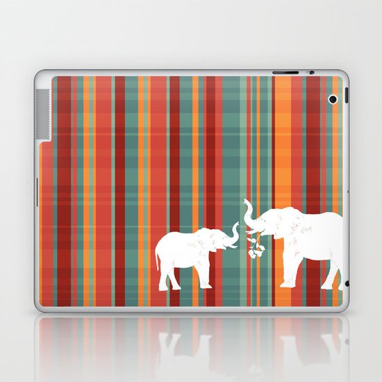 Elephants Share Laptop & iPad Skin