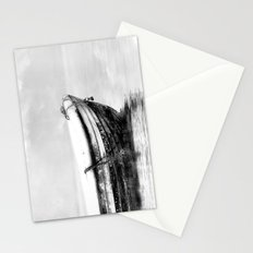 The boat b/w Stationery Cards