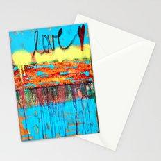 Love Runs Through  Stationery Cards