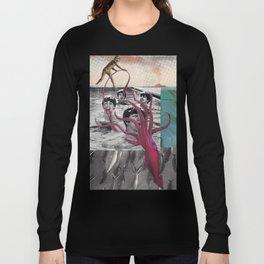 Beat Swim Vs. Squid Long Sleeve T-shirt