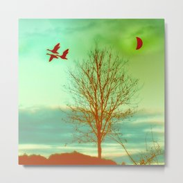 bird flight Metal Print