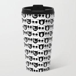 Hipster Cats Travel Mug