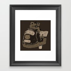Anti Social Club Framed Art Print